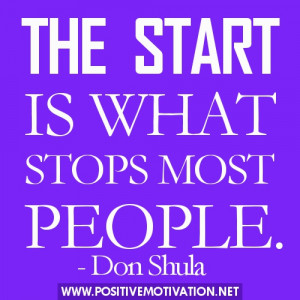 New start quotes – The start is