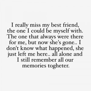 Dear Ex Best Friend Quotes