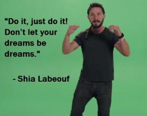 Shia Labeouf Delivers The Most Intense Motivational Speech Of All-time