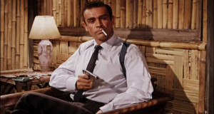 Photo of James Bond , as portrayed by Sean Connery from