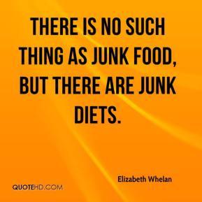 Junk Food Quotes: No Junk Food Challenge