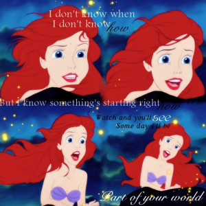 Quotes From Little Mermaid Princess-Ariel-the-little-
