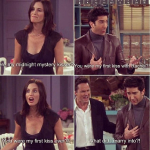 Monica Ross and Chandler Funny quotes Friends tv show