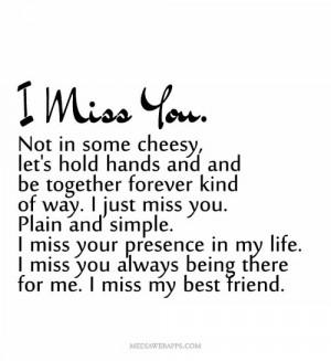 miss my Best Friend :I