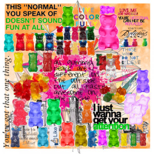 gummy bears and quotes about gummy bears...?? - Polyvore
