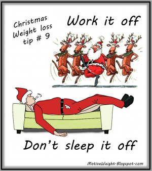 Christmas Weight Loss Tip # 9
