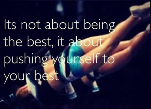 Cheerleading quotes, inspiring, motivational, sayings, try your best