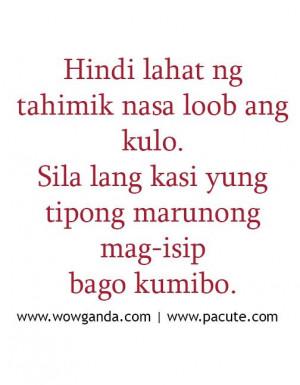 Tagalog Quotes – Mga Patama Love Quotes: Love Quote, Tagalog Quote