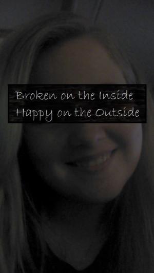 Broken Inside Quotes