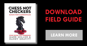 Chess Not Checkers Field Guide & Workbook