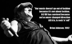 Very Rock n Roll Quotes From AC/DC