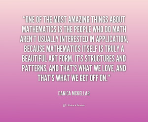 Danica McKellar Math Quotes