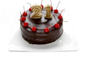 funny 21st birthday sayings for girls