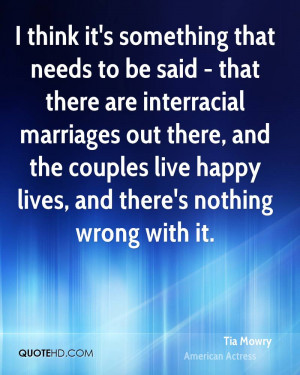 Tia Mowry Marriage Quotes