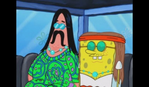 funny, hippy, hipster, love, patrick, photography, spongebob