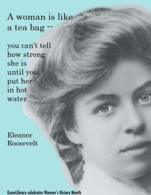 Eleanor Roosevelt - social justice advocate