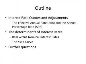 Interest Rate Quotes and Adjustments – The Effective Annual Rate ...