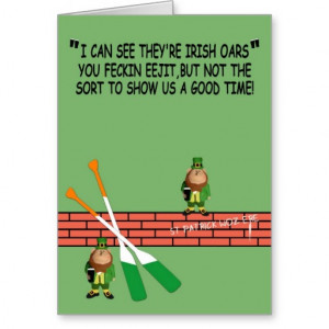 Hilarious Irish birthday Cards
