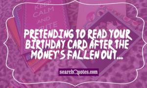 Funny Birthday Cake Quotes