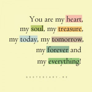 YOU are Baby...YOU are my everything ...