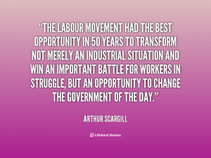Labor Movement Quotes