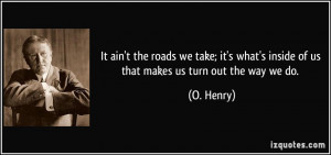 More O. Henry Quotes