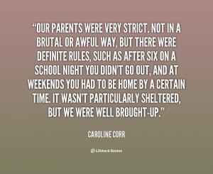 Strict Parents Quotes