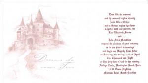 Real Wedding: Princess Theme Wedding in a Castle