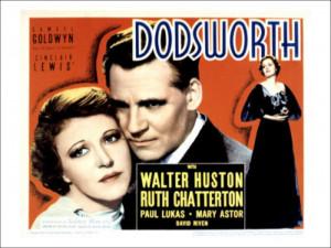 Dodsworth Paul Lukas Ruth Chatterton Walter Huston Mary Astor 1936