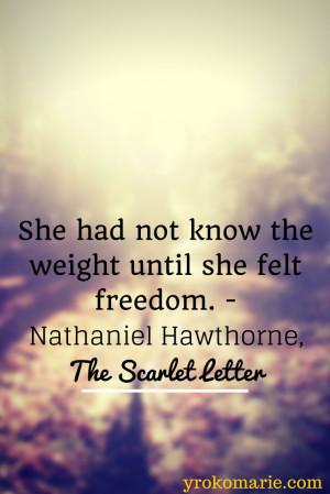 Nathaniel Hawthorne Quotes Scarlet Letter Nathaniel hawthorne, the ...
