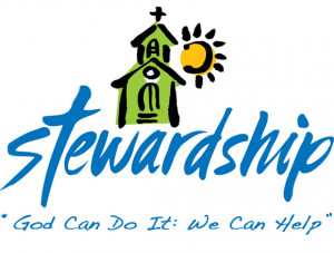 This is the theme for the Stewardship Drive at the church this year ...