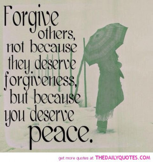 Forgive Others | The Daily Quotes