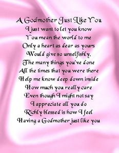 blessing looks will you be my godmother sayings godmother quotes