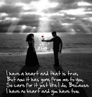 heart Love letter quotes for him
