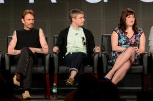 Billy Bob Thornton, Martin Freeman and Allison Tolman promote 'Fargo ...