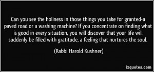 More Rabbi Harold Kushner Quotes