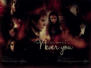 Damon & Elena delena love