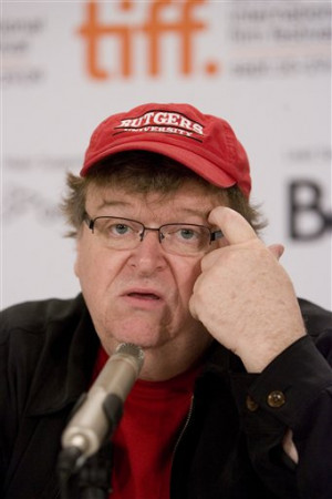 ... Stephen Colbert interviews Michael Moore on 'Capitalism a Love Story