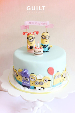Source: http://cakesdecor.com/cakes/114131-minion-couple Like