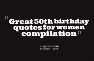 Funny 50th Birthday Quotes