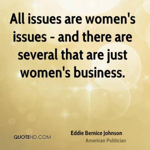 Eddie Bernice Johnson Women Quotes