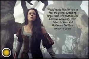 Snow White and the Huntsman Kristen Stewart yellow light