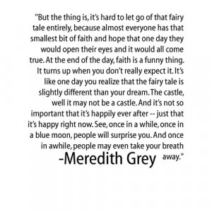 meredith grey quotes | Tumblr