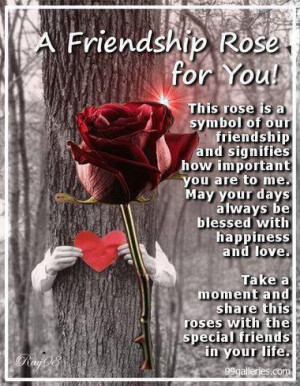Friendship Rose