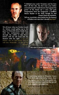 Stannis Baratheon Quotes