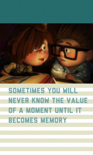 ellie and carl up up movie ellie and carl quotes