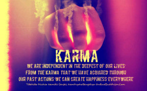 Bad Karma – Daily Quotes