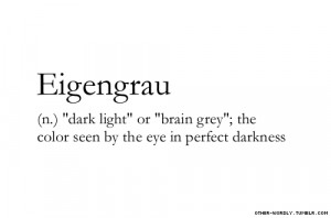 light words submission dark color sight definitions gray grey e German ...