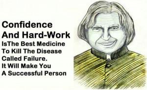 Confidence & Hard Work....