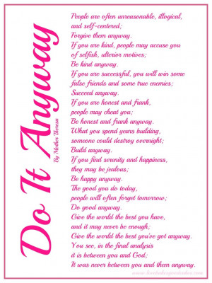 Inspiring-Inspirational Poems – Poem Of The Day To Live BY